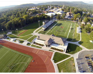 The Weston Athletic Complex is home to the football, track and field, lacrosse, and field hockey teams and provides practice and game fields for soccer.