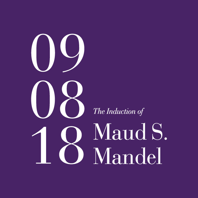 The Induction of Maud S. Mandel