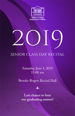 Senior Class Day Recital