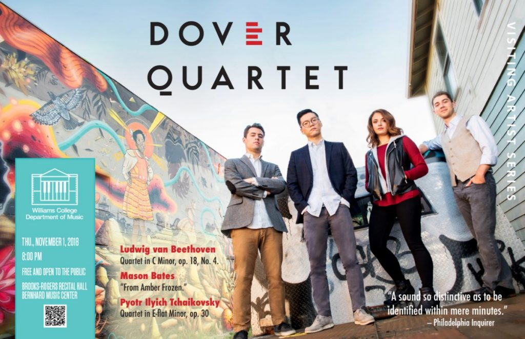 Dover String Quartet - Visiting Artist Series