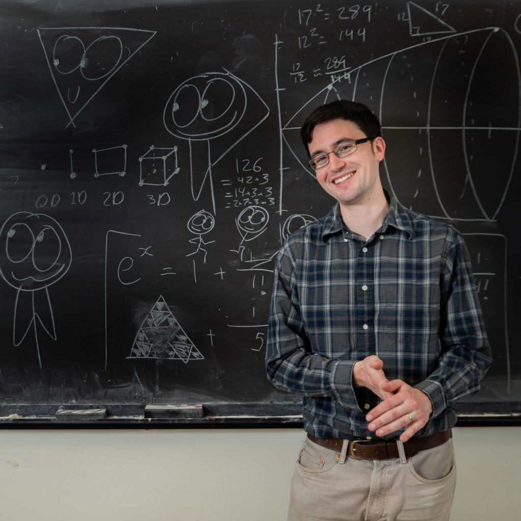 The Unlikely Friendship of Math and Science -  An evening with Ben Orlin