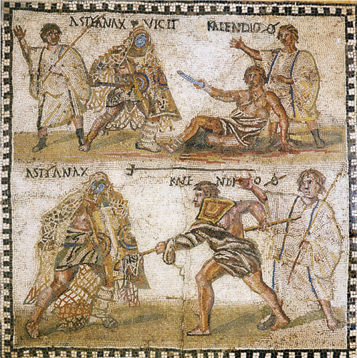 The Conundrum of the Arena:  Violent Spectacles and the Roman System of Values