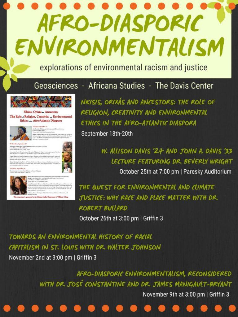 Afro-Diasporic Environmentalism, Reconsidered