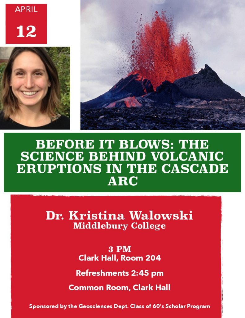 Before it Blows: the Science Behind Volcanic Eruptions in the Cascade Arc