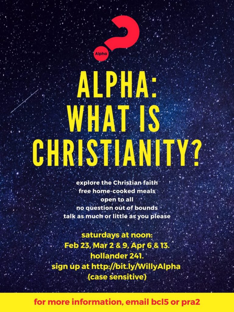 Alpha: What is Christianity?