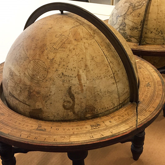 Judith M. Lenett Memorial Lecture on History and Conservation of 19th C. Globes