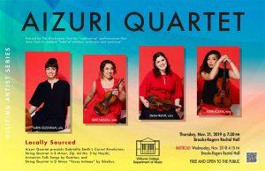 Aizuri Quartet - Visiting Artist Series