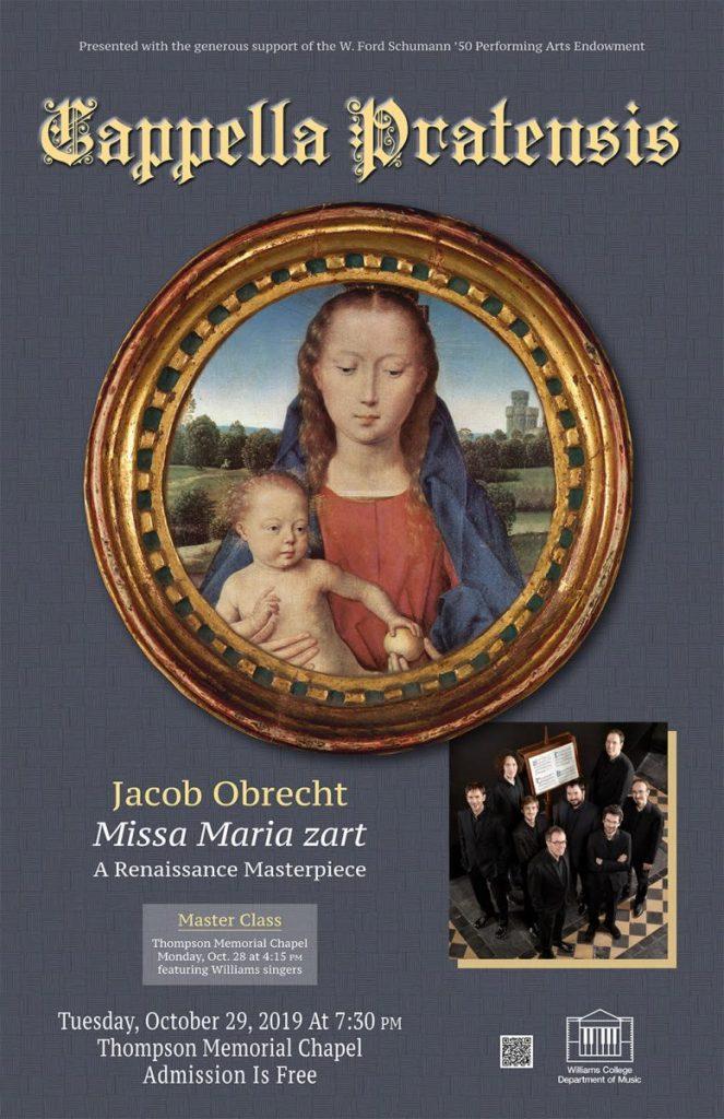 Cappella Pratensis - Visiting Artist Series