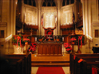 A Christmas Service of Lessons & Carols, Thompson Memorial Chapel