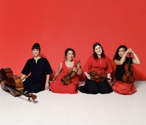 Master Class - Aizuri Quartet - Visiting Artist Series