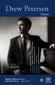 Drew Petersen, piano - Visiting Artist Series