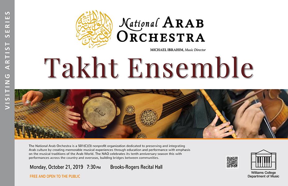 National Arab Orchestra - Takht Ensemble - Visiting Artist Series