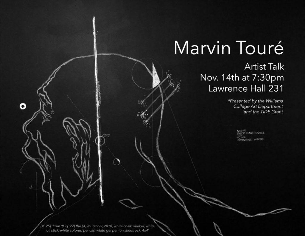 Artist Talk: Marvin Touré