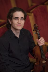 CANCELED - Benjamin Mygatt '20, violin
