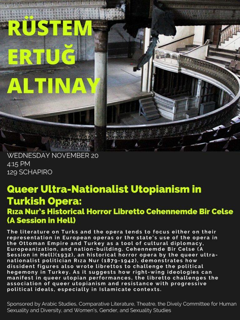 Queer Ultra-Nationalist Utopianism in Turkish Opera: