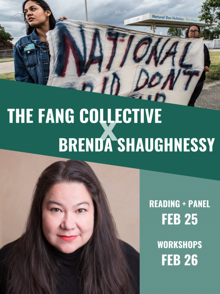 Poetry, Activism, & Ecological Futures: Brenda Shaughnessy + The FANG Collective (2/25)