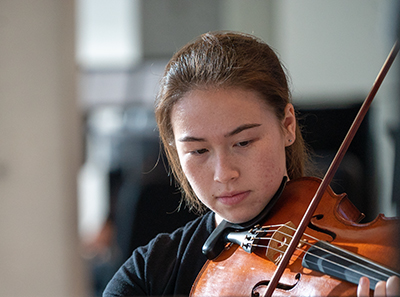 CANCELED - Rebecca Christainsen '21, viola