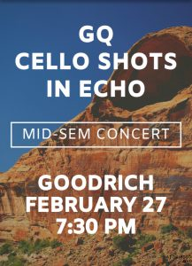 Mid-Sem Concert ft. GQ, Cello Shots, and In Echo!