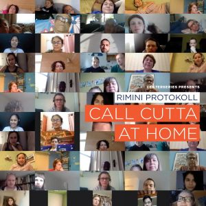 "Conversation with Rimini Protokoll, creators of ""Call Cutta at Home"" post-performance Q&A"