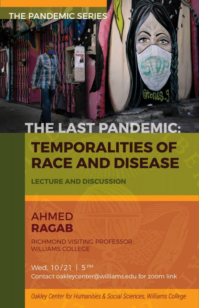 The Pandemic Series, Part 1: Temporalities of Race & Disease