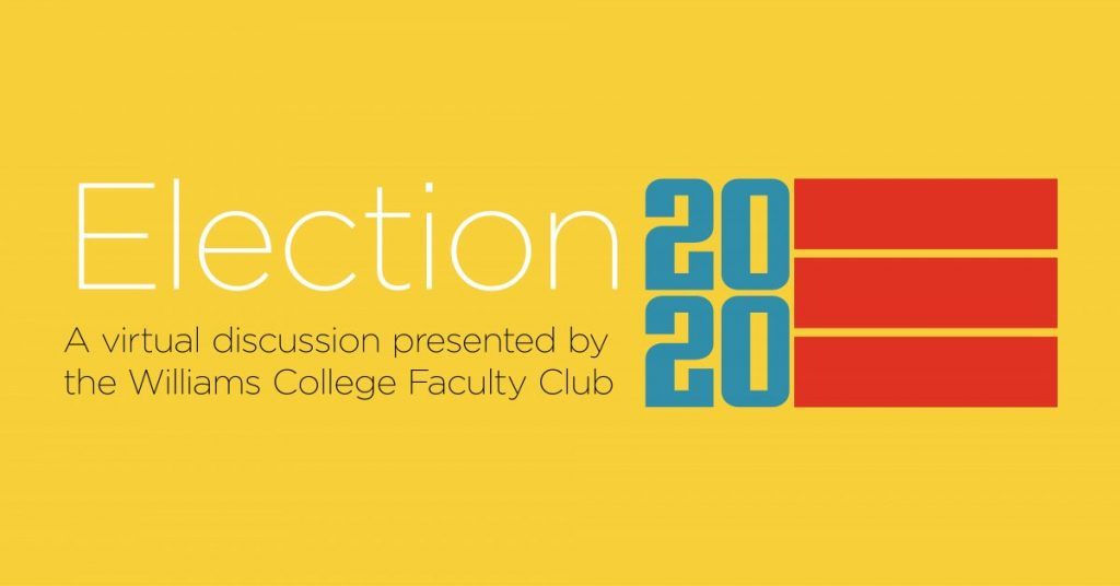 TODAY: Election 2020 discussion with Professor James McAllister