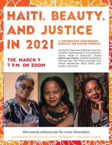 Haiti, Beauty, and Justice in 2021: A Conversation with Edwidge Danticat and Évelyne Trouillot