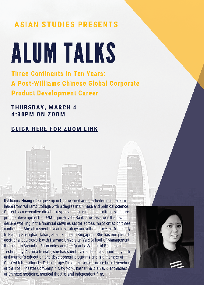 Alum Talks: Three Continents in Ten Years Chinese Global Corporate Product Development Career