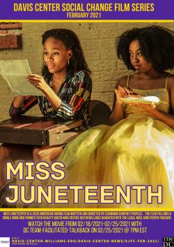 "Watch ""Miss Juneteenth:"" DC Social Change Film Series"