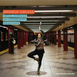 Brinda Guha: Contemporary Indian Dance Workshop
