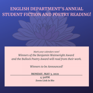 Annual Student Fiction and Poetry Reading