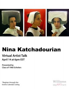 1960s Scholars: April  14th Artist Talk with Nina Katchadourian