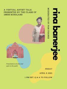 1960s Scholars: April 9th Artist Talk with Rina Banerjee