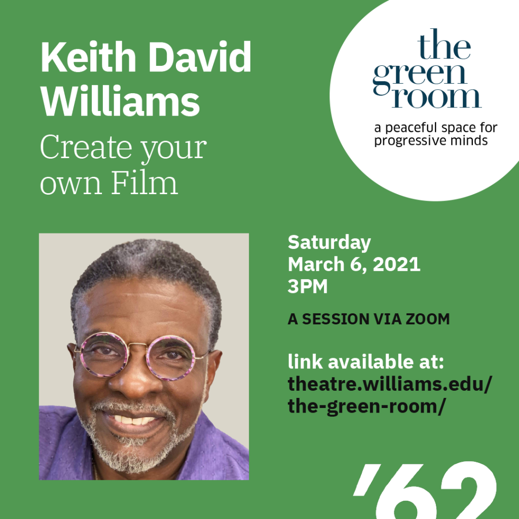 The Green Room with Keith David Williams, Emmy-winning Actor, Voice Actor and Producer.
