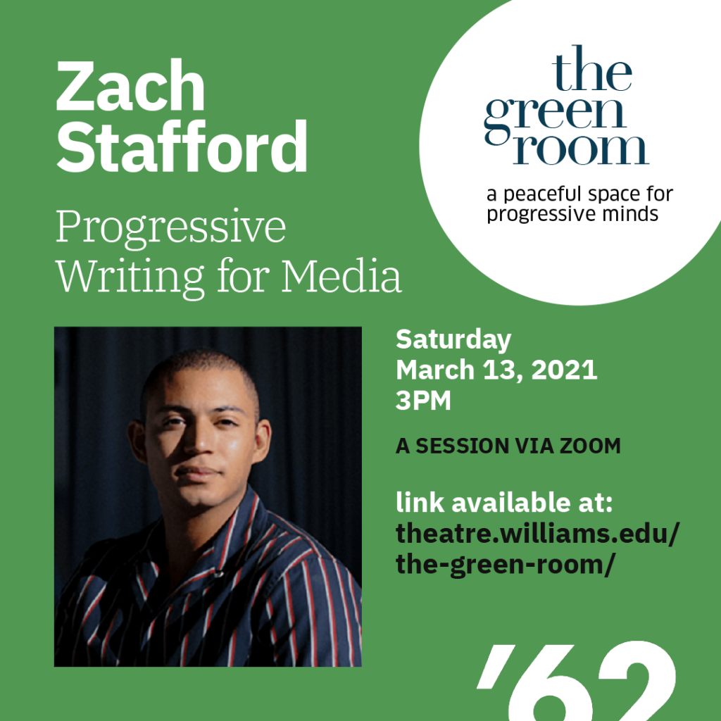 The Green Room with Zach Stafford, journalist at The Guardian and editor-in-chief of The Advocate.