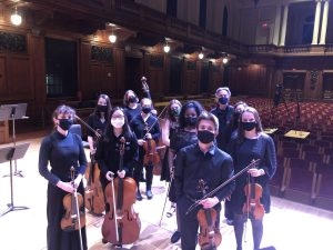 Chamber Orchestra of Williams - video release