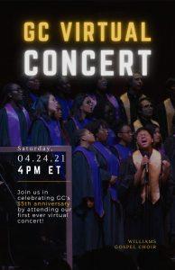 Gospel Choir Virtual Concert