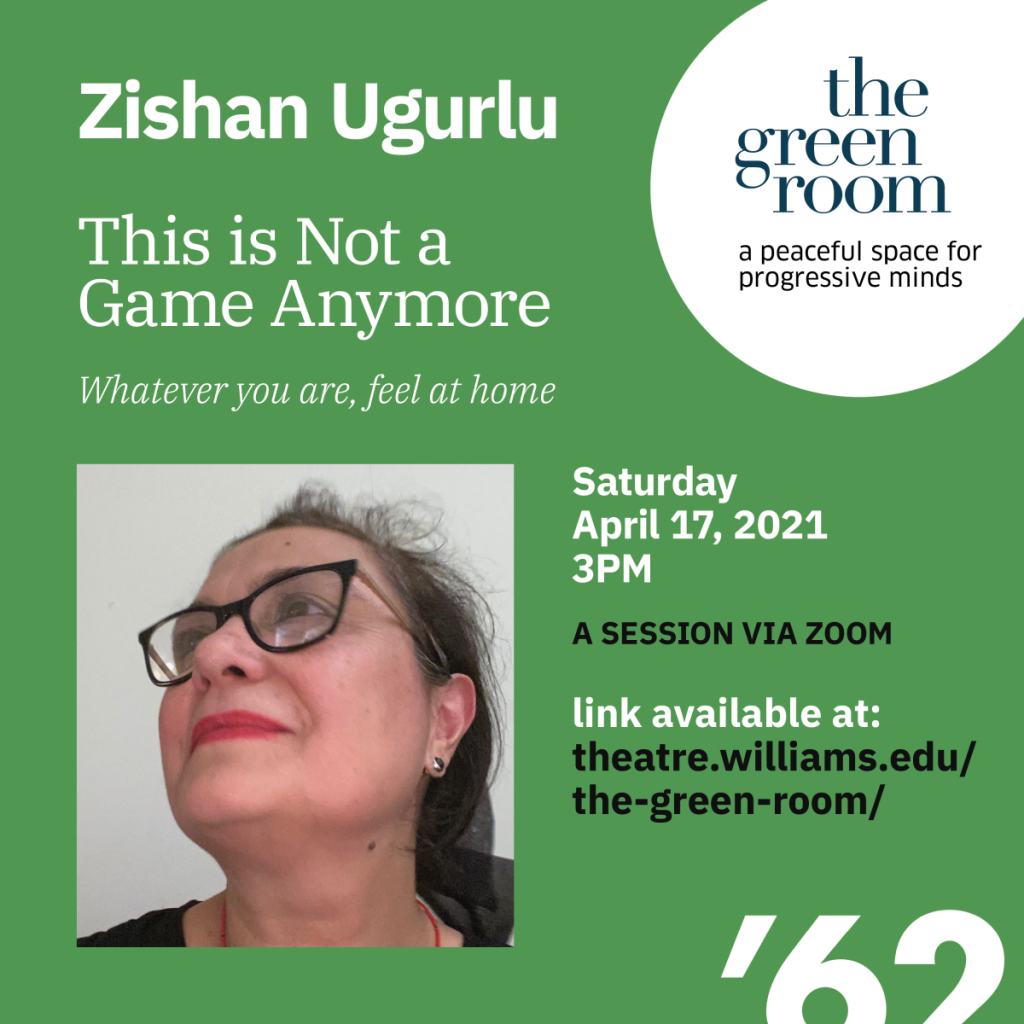 """The Green Room with Zishan Ugurlu, """"This is Not a Game Anymore"""""""