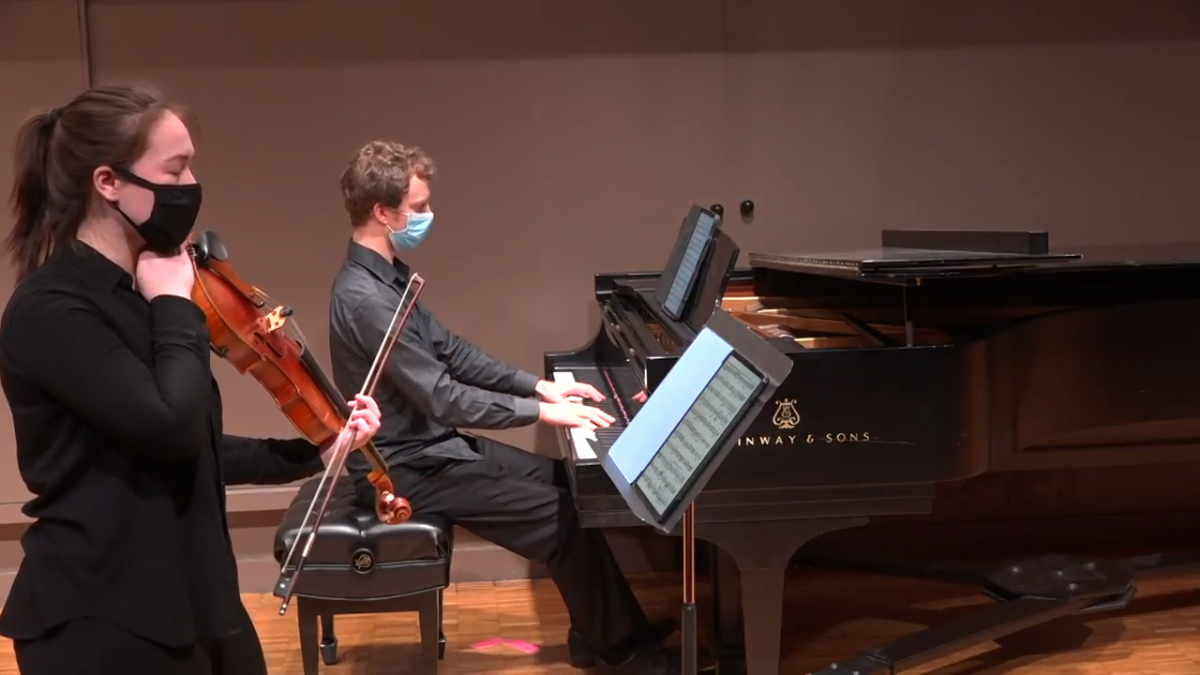 Kris Allen, sax and Zaccai Curtis, piano - Faculty Recital Livestream